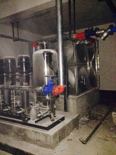 供水设备安装